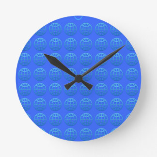 earth round clock