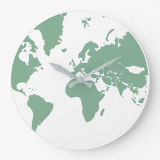 Earth / Round (Large) Wall Clock