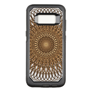 Earth Spiral Mandala OtterBox Commuter Samsung Galaxy S8 Case
