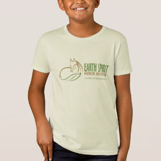Earth Spirit Horse Rescue Inc. T-Shirt (kids)-2