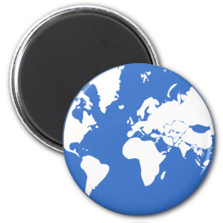 Earth / Standard, 5.7 Cm Round Magnet