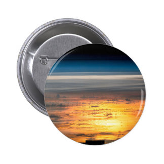 Earth sunset from the International Space Station 2 Inch Round Button