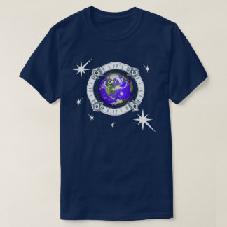 Earth Surrounded by Stars T-Shirt