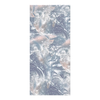 Earth Texture Background Rack Card