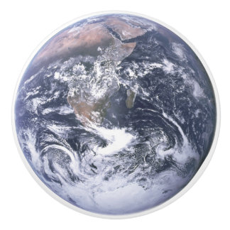 Earth ~ The Blue Marble ~ Apollo 17 ~ Nasa ~ Ceramic Knob