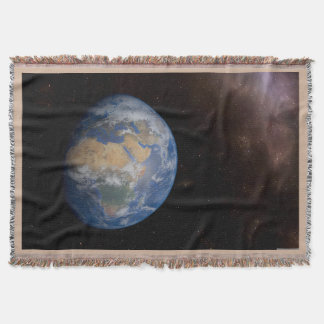 Earth Throw Blanket