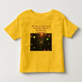 Earth toddler shirt