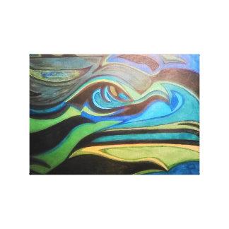 Earth Tone Original... Canvas Print