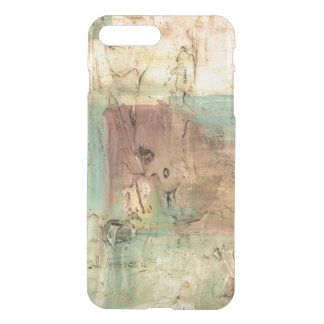 Earth Tone Painting with Cracked Surface iPhone 7 Plus Case