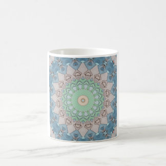 Earth Tone Pastels Mandala Coffee Mug