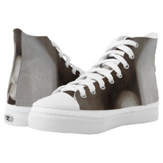 Earth Tone Still Life High Top Shoes
