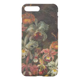 Earth Tone Vintage Flowers iPhone 7 Plus Case