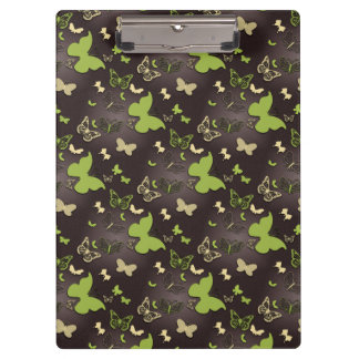 Earth Tone, Warm Color, Butterfly Clipboard
