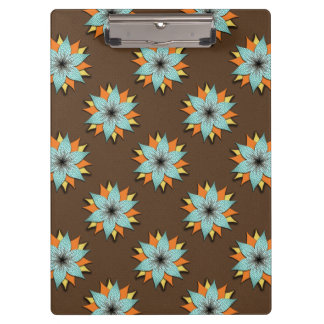 Earth Tone, Warm Color, Flower Clipboard