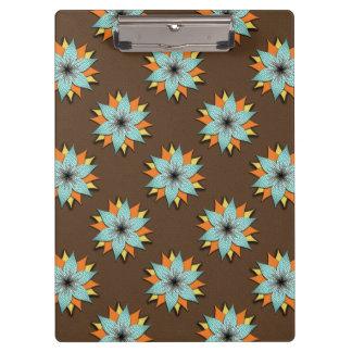 Earth Tone, Warm Color, Flower Clipboard