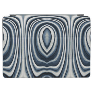 Earth Toned Blue Abstract Pattern iPad Air Cover