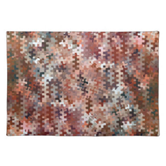 Earth Toned Multicolored Pattern Placemat