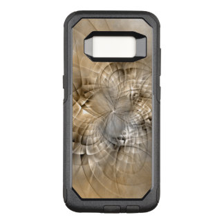 Earth Tones Abstract Modern Fractal Art Texture OtterBox Commuter Samsung Galaxy S8 Case