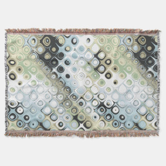 Earth Tones Pattern Throw Blanket