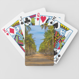 Earth Topical Road Porto Galinhas Brazil Bicycle Playing Cards
