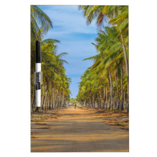 Earth Topical Road Porto Galinhas Brazil Dry Erase Whiteboard