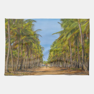 Earth Topical Road Porto Galinhas Brazil Kitchen Towels