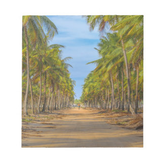 Earth Topical Road Porto Galinhas Brazil Notepad