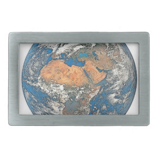 Earth View focused on the Cradle of Civilization Belt Buckles