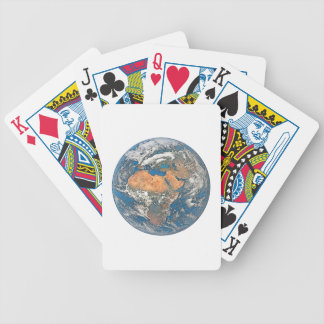 Earth View focused on the Cradle of Civilization Bicycle Playing Cards