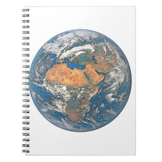 Earth View focused on the Cradle of Civilization Notebooks