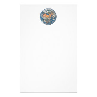 Earth View focused on the Cradle of Civilization Stationery