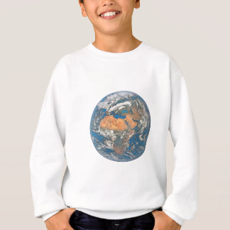 Earth View focused on the Cradle of Civilization Sweatshirt
