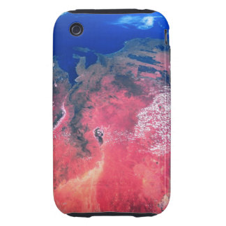 Earth Viewed from Space 2 iPhone 3 Tough Case