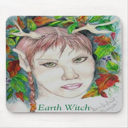 Earth Witch Mouse Pad