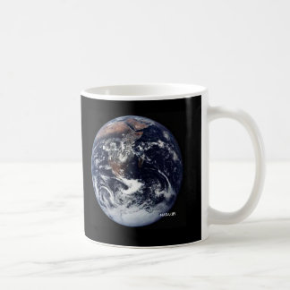 Earth with No Lines - Mug