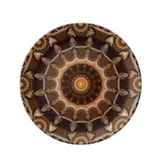 Earth Works Mandala Porcelain Plates