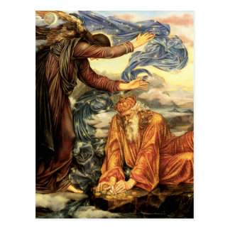 Earthbound by Evelyn De Morgan Postcard