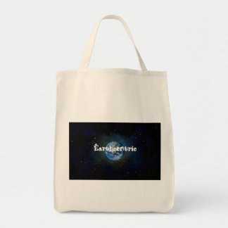 Earthcentric all organic grocery tote grocery tote bag
