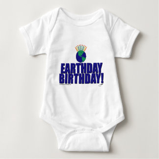 Earthday Birthday Baby Bodysuit