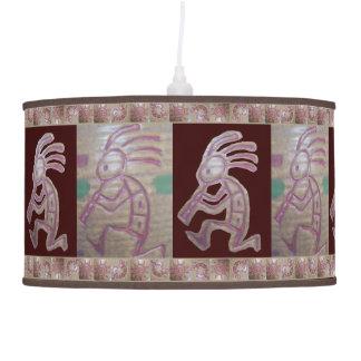 Earthenware Kokopelli Hanging Lamps