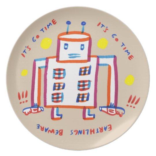 Earthlings Beware Plate