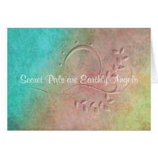 Earthly Angel Secret Pal Card
