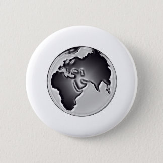 Earthly View 2 Inch Round Button