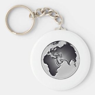 Earthly View Keychain