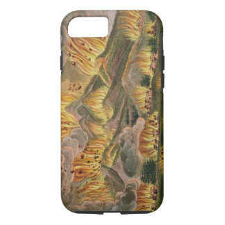 Earthquake and Eruption of the Mountain of Asama-y iPhone 7 Case