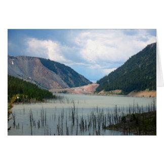 Earthquake Lake by Cynthia Wenslow Card