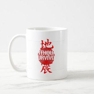 EARTHQUAKE SURVIVOR COFFEE MUG