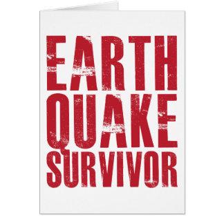 Earthquake Survivor - Red Card