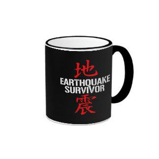 EARTHQUAKE SURVIVOR RINGER MUG