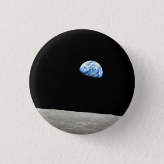 Earthrise 1 Inch Round Button